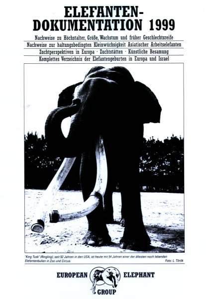 Elefanten-Dokumentation 1999